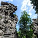 Greifensteine - Felsformation in Sachsen