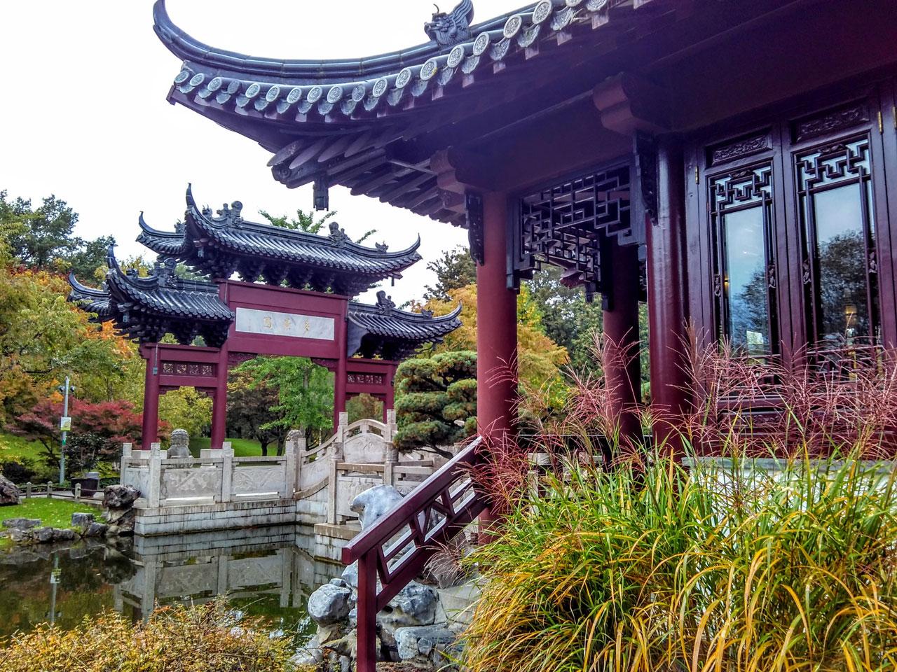 Chinesischer Garten im Luisenpark in Mannheim - Unknownplaces.net