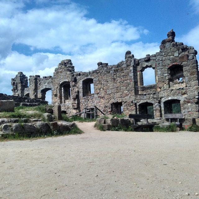 Мистические руины древнего замка и монастыря Ойбин (Oybin Sachsen)