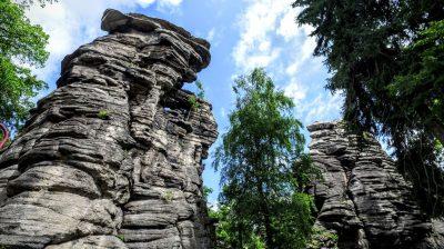 Greifensteine – Felsformation in Sachsen