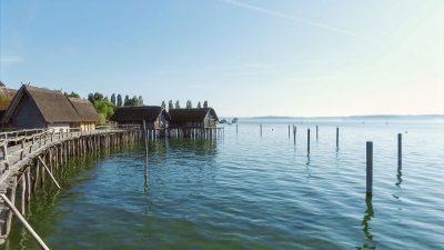 Pfahlbauten im Bodensee