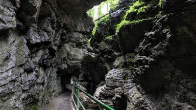 Breitachklamm – Zerklüftete Felsschlucht im Allgäu