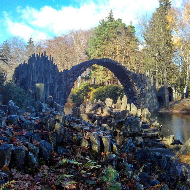 Мост Ракотцбрюке в Габленце (Саксония)